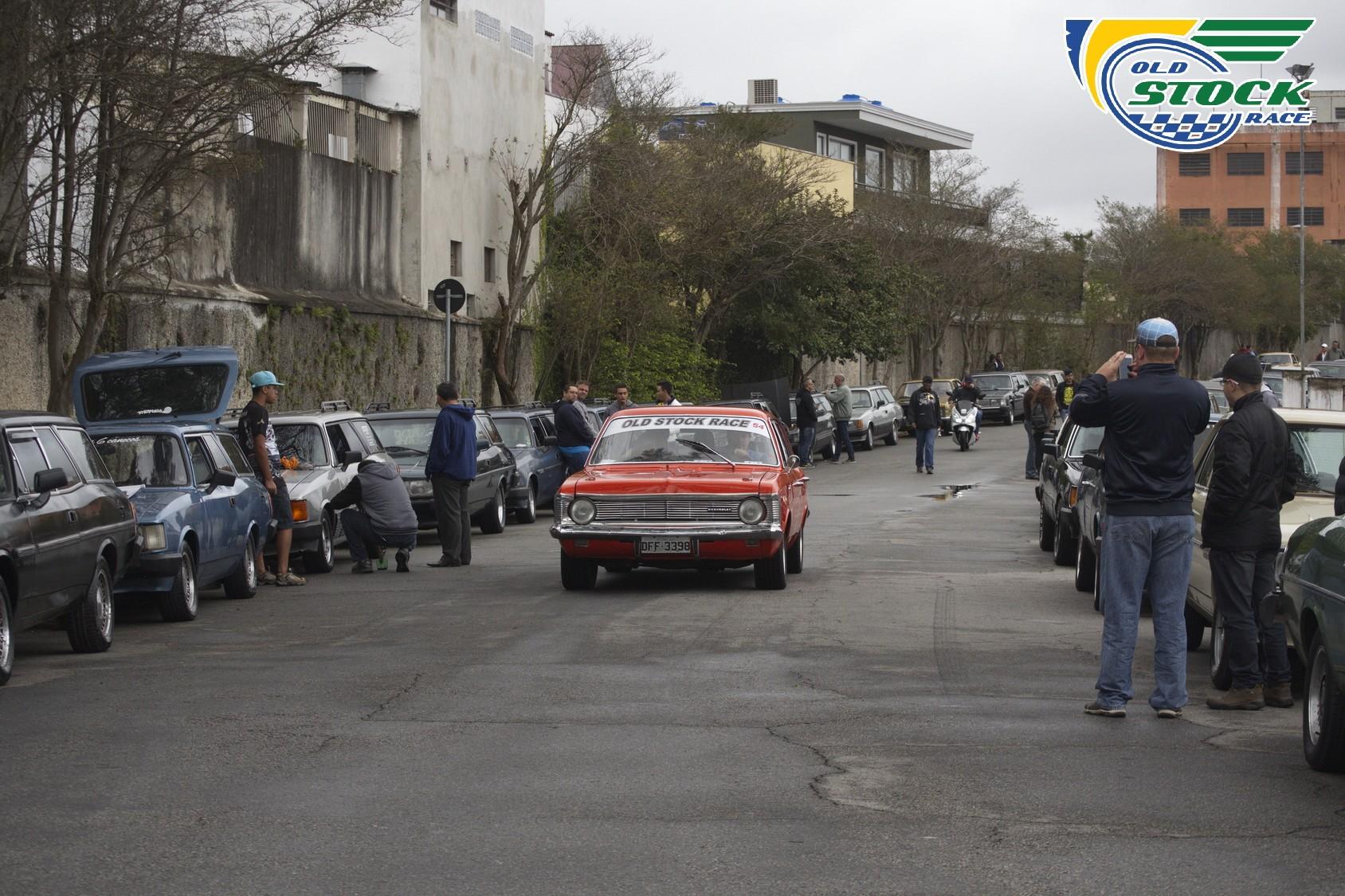 Opaleiros chegando para a Old Stock Race (Foto: Barbara Bonfin/OSR)