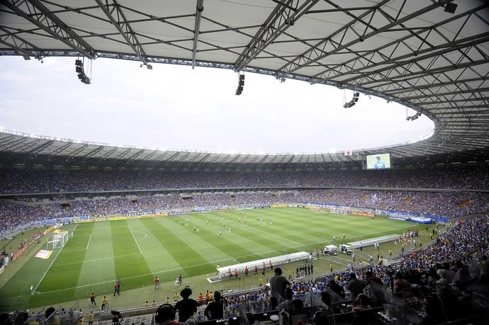 99c9cf2fb3 Mineirão recebeu o clássico entre Cruzeiro e Atlético-MG pelo segundo turno  do Brasileirão (