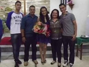 Família Goldoni reunida (Foto: Nivia Goldoni/Arquivo Pessoal)