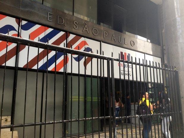Universidade fica no bairro do Comércio, em Salvador (Foto: Juliana Almirante/G1)