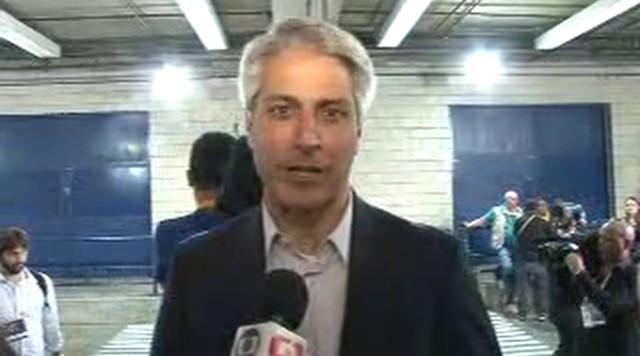 Alessandro Molon (Rede) chega aos Estúdios Globo para debate