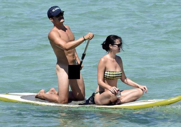 Orlando Bloom e Katy Perry (Foto: AKM)
