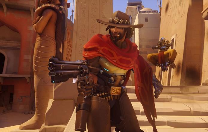 McCree, o cowboy cibernético (Foto: Divulgação/Blizzard) (Foto: McCree, o cowboy cibernético (Foto: Divulgação/Blizzard))