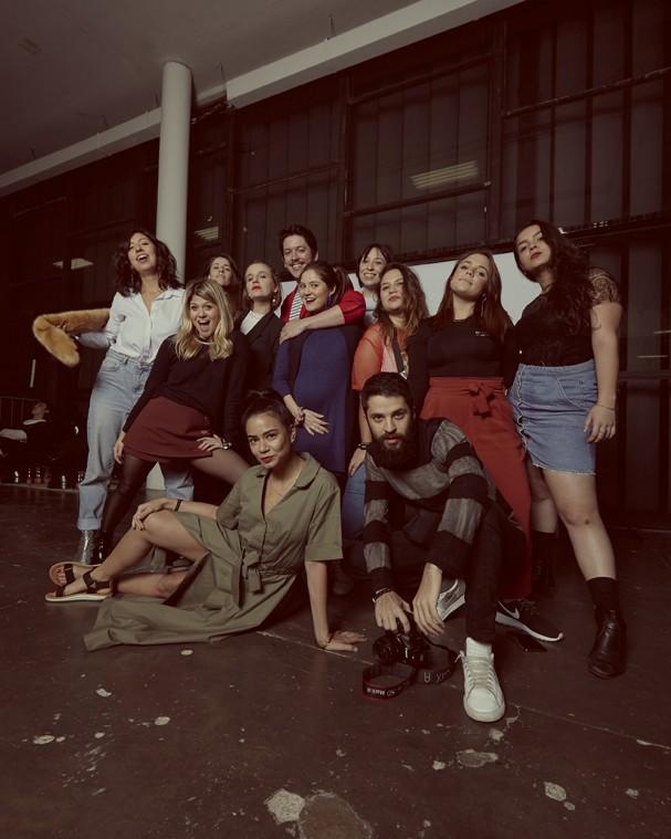 Gangues do SPFW: Glamour Brasil (Foto: João Arraes)