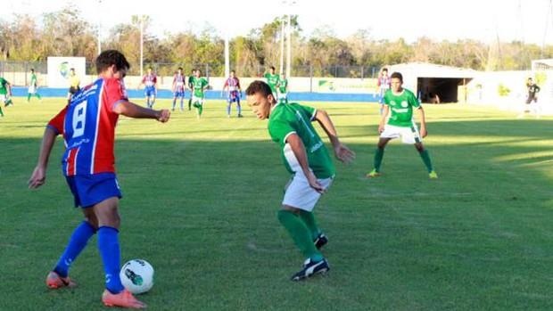 Barras - Sub 18 - Piauí (Foto: Náyra Macêdo/GLOBOESPORTE.COM)