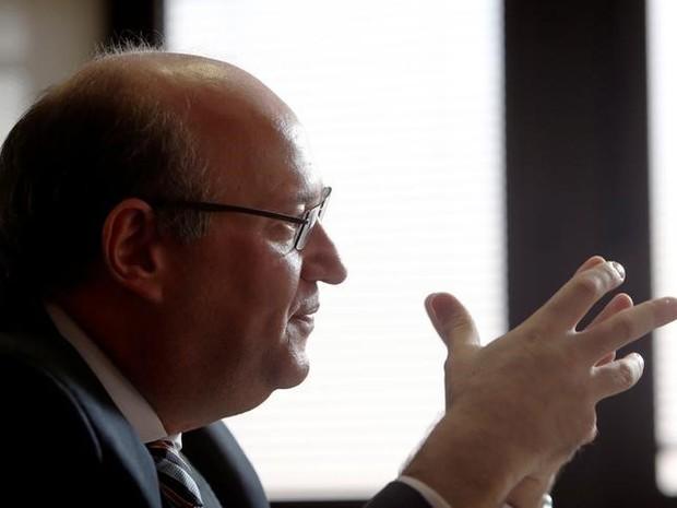 Presidente do Banco Central, Ilan Goldfajn, durante entrevista na sede do BC em Brasília 15/09/2016. (Foto: REUTERS/Adriano Machado)