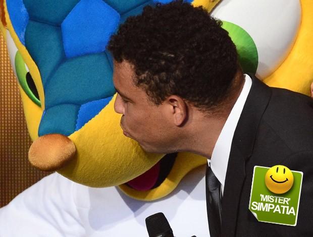 Ronaldo selo Mister simpatia (Foto: AFP)