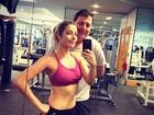 Luiza Possi mostra barriga sequinha, mas admite: 'Nada fácil'