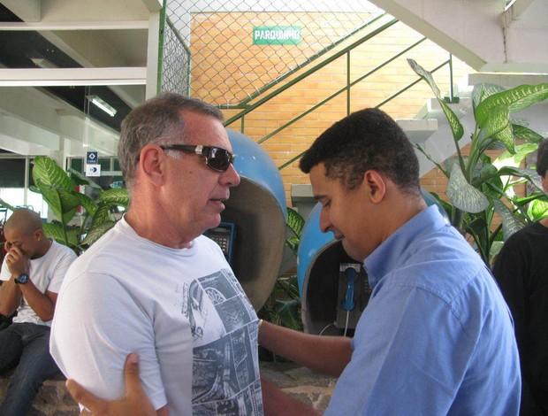 Ney Pereira e Manoel Tobiais futsal (Foto: Reprodução Facebook)