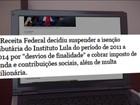 Instituto Lula tem isenção tributária suspensa de 2011 a 2014 e é multado