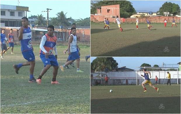 Clubes se preparam para a disputa da série D do brasileirão (Foto: Globo Esporte Acre)