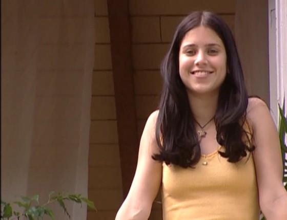 Mel Lisboa em cena da minissérie Presença de Anita, em 2001: belo trabalho da atriz é lembrado até hoje (Foto: Divulgação/ Rede Globo)