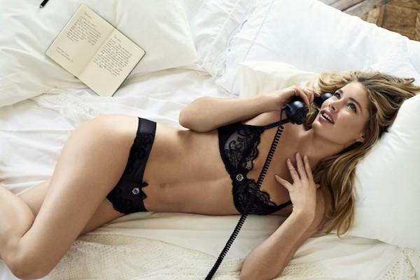 A modelo holandesa Doutzen Kroes (Foto: Reprodução)