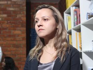 Delegada Thaís Paz ouviu as três testemunhas do homicídio (Foto: Catarina Costa/G1 PI)