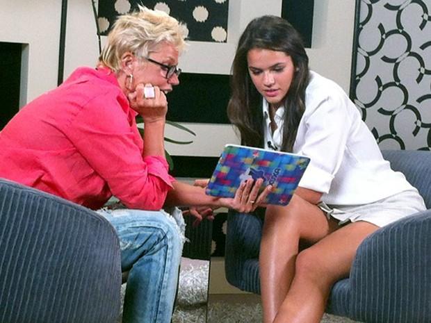 Bruna Marquezine no quadro Memória X (Foto: TV Xuxa / TV Globo)