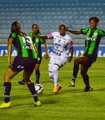 São José futebol feminino x América-MG (Foto: Danilo Sardinha/GloboEsporte.com)