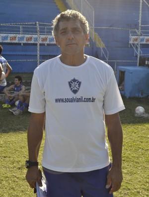 Luis Carlos Sá, técnico do Vitória-ES (Foto: João Brito/GloboEsporte.com)