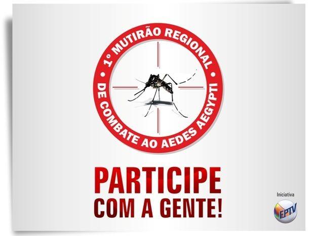 Mutirão Dengue EPTV (Foto: Divulgação / EPTV)