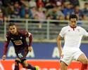 Jornal: Sevilla pode oferecer Ganso para conseguir a contratação de Pratto