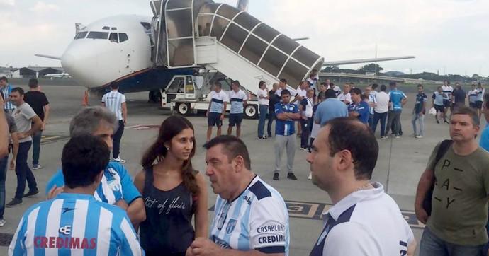 Avião Atlético Tucumán (Foto: Reprodução)