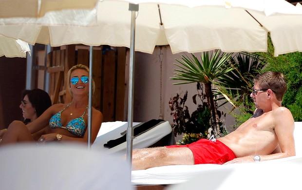 Steven gerrard férias em Ibiza (Foto: Splash News)
