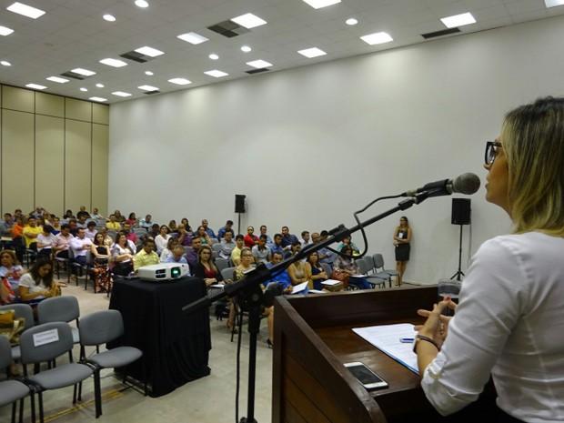Evento aconteceu na tarde desta sexta-feira, em Natal, e contou com representantes de 102 municípios do estado (Foto: Divulgação/Unacon)
