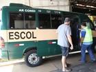 CET de Santos faz vistoria e recadastramento de transporte escolar