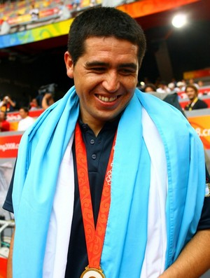 Riquelme sele&#231;&#227;o argentina (Foto: Getty Images)