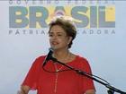 Dilma diz que aguenta pressão e que tem a legitimidade do voto popular