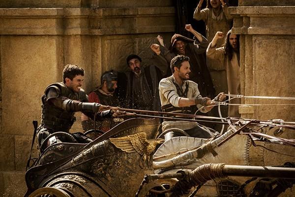 Toby Kebbell e Jack Huston em Ben-Hur (Foto: Divulgação)