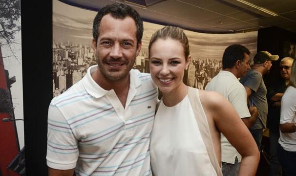 Malvino Salvador e Paolla Oliveira formarão um par romântico na próxima novela das nove da Rede Globo (Foto: Raphael Dias / TV Globo)