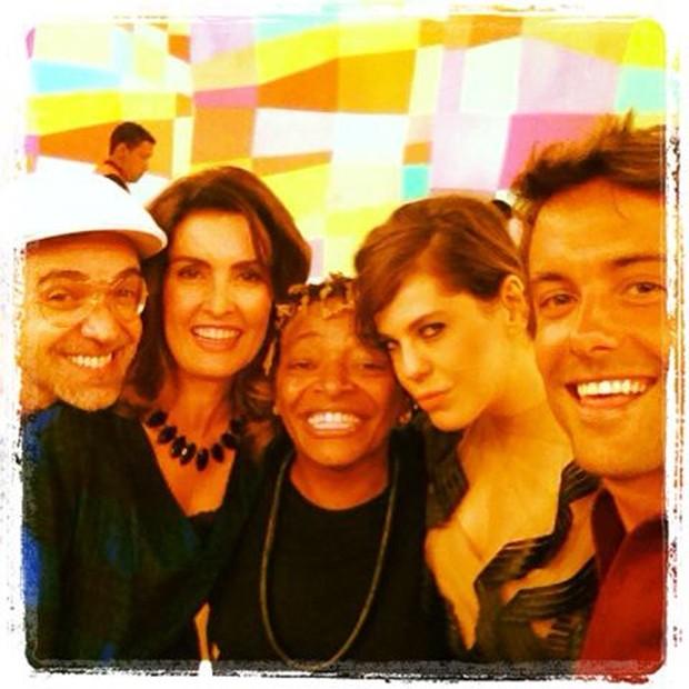 Moska, Fatima Bernardes, Mart'nalia, Barbara Paz e Kayky Brito (Foto: Instagram/Reprodução)