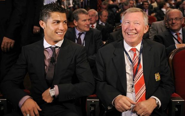 Cristiano Ronaldo Alex Ferguson Manchester United (Foto: Getty Images)