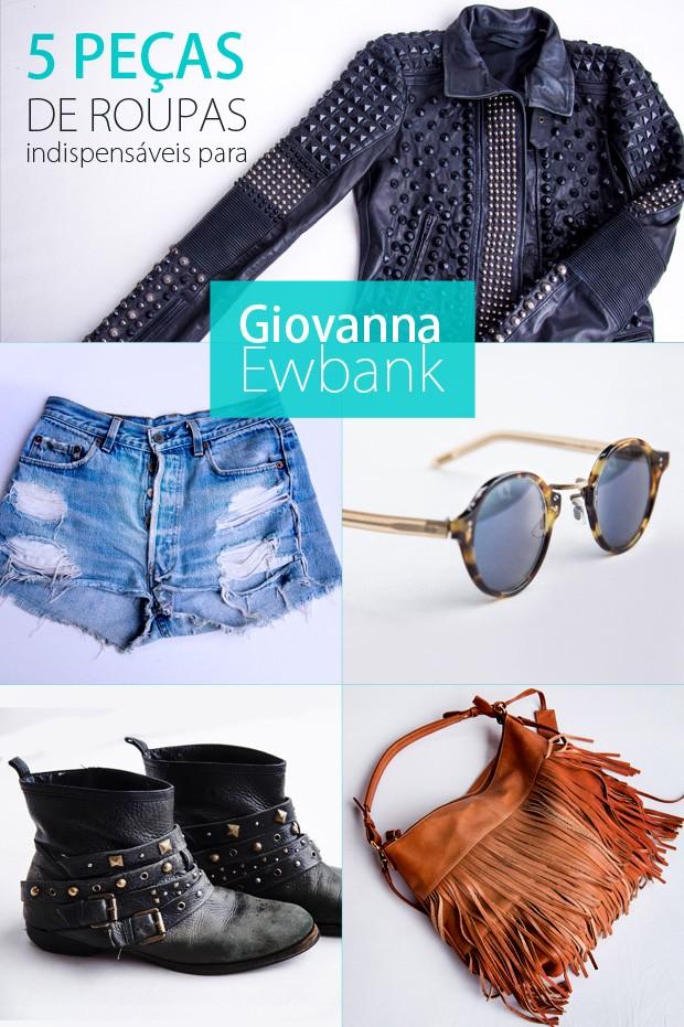 5 peças do armário de giovanna ewbank (Foto: Raphael Dias/ TV Globo)