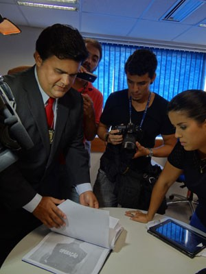 Segundo Joselito Kherler, suspeito afirma que tiro foi acidental  (Foto: Luna Markman/G1)