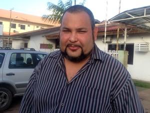 Conselheiro Tutelar João Bosco (Foto: Jéssica Alves/G1)
