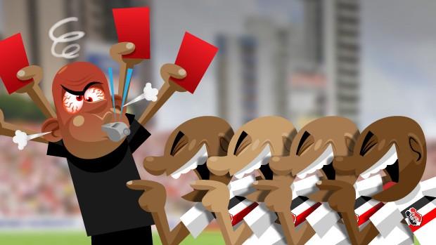ilustração MATÉRIA Zé do Carmo 2 (Foto: arte esporte / cláudio roberto)