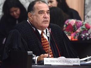 Desembargador Jorge Rachid é relator do processo (Foto: Ribamar Pinheiro / TJ-MA)