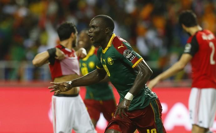 Aboubakar Camarões Egito Copa Africana (Foto: Camarões Egito Copa Africana)