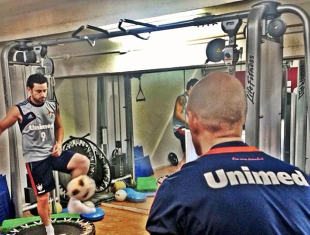 Fred treino Fluminense (Foto: Reprodução/Instagram)