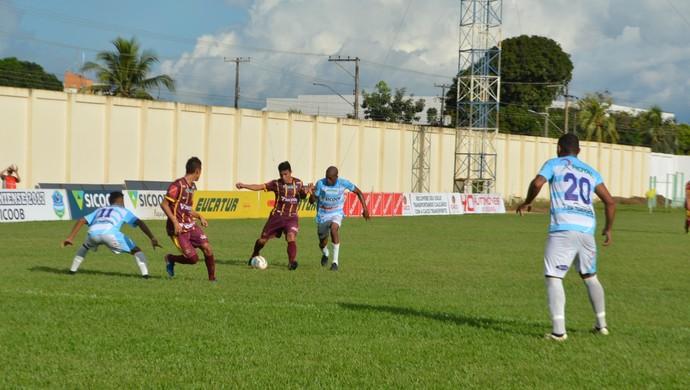 Genus venceu Ji-Paraná na estreia do returno (Foto: Lívia Costa)