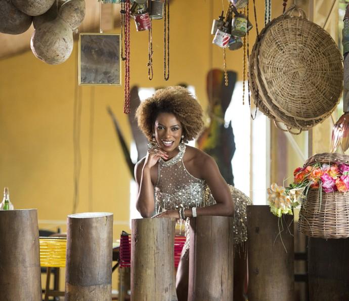 A dançarina investiu em tratamentos estéticos para garantir o corpão (Foto: Carol Caminha/Gshow)