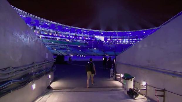 Fantástico revela segredos da abertura da Olimpíada (Globo)