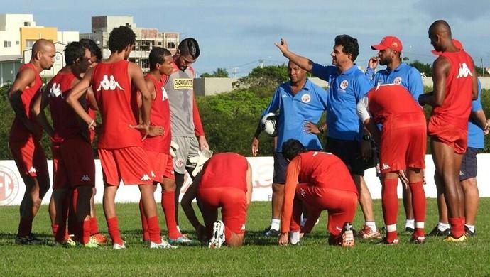 América-RN - treino campo do CT Parnamirim (Foto: Canindé Pereira/América FC)