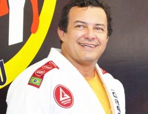 key pessoa presidente da federação paraibana de jiu jitsu mma (Foto: Lucas Barros / Globoesporte.com/pb)
