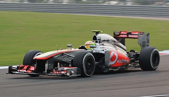 Sergio Pérez GP da Índia (Foto: AFP)