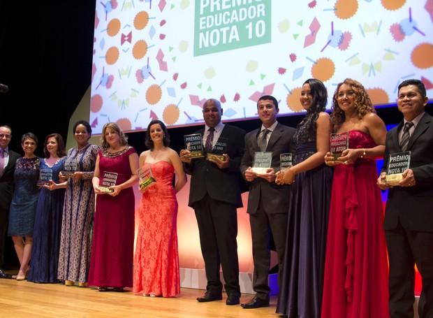 premio educador nota 10 (Foto: Divulgação)