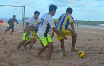 Jacaraú movimenta o futebol de areia com o início de duas competições