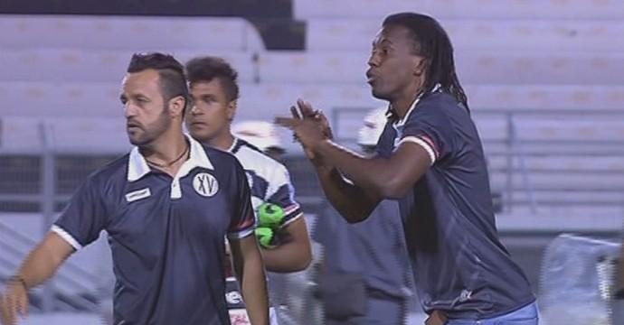 Roque Júnior, técnico do XV de Piracicaba (Foto: Reprodução PFC)
