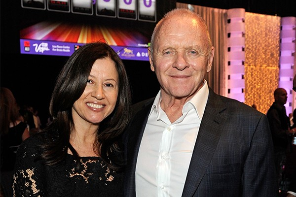 Stella Arroyave e Anthony Hopkins (Foto: Getty Images)